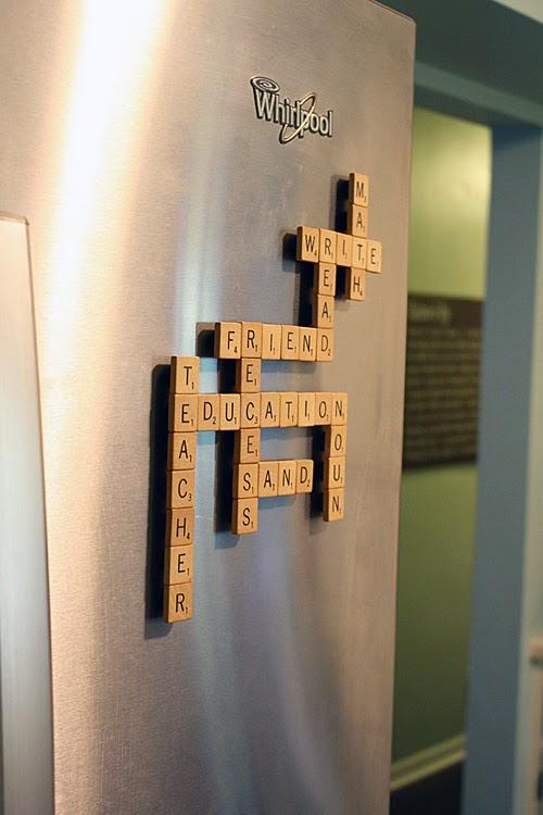 Play Scrabble On The Fridge Ilovetocreate