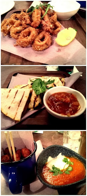 Las Iguanas- Exeter review food