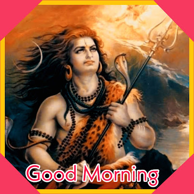 Good morning lord shiva images with shubh somvar pictures wallpaper download