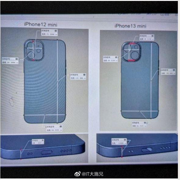 iPhone 13 Mini Prototype Leak, Shows Rear View