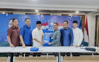 Selamat, Feri Sofiyan Kantongi SK DPP Sebagai Ketua DPD PAN Kobi Periode 2020-2025
