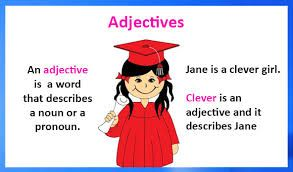 Adjective, What is adjective, adjective definition, Types of adjective, rules for adjective