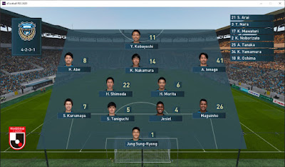 PES 2020 Scoreboard J1 League by Klerry