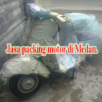 packing motor vespa.