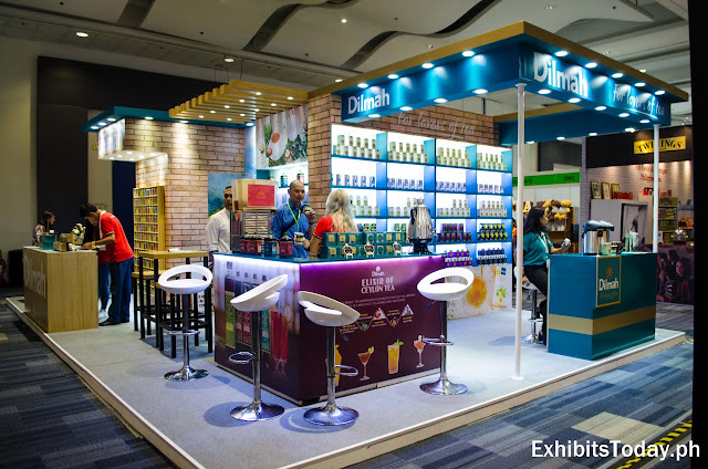 Dilmah Exhibition Stand