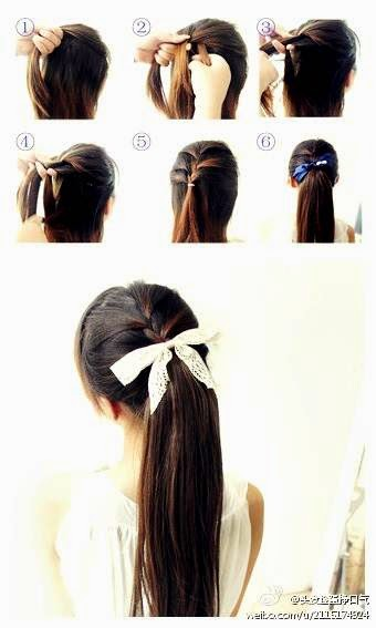 Tips Cara Mengikat Rambut Ala Jepang Simple