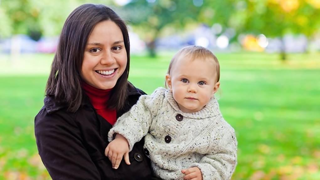 bayi dan ibu