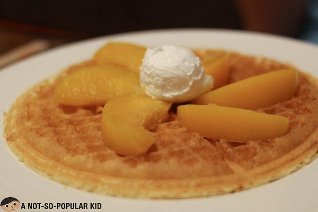 Peach Waffle of Pancake House