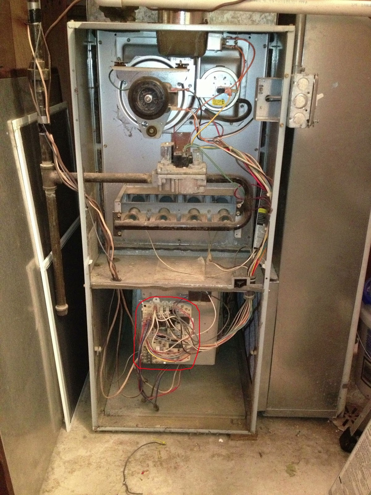 hight resolution of carrier furnace wiring