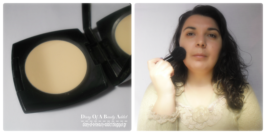Avon Ideal Flawless Pressed Powder - Light Medium