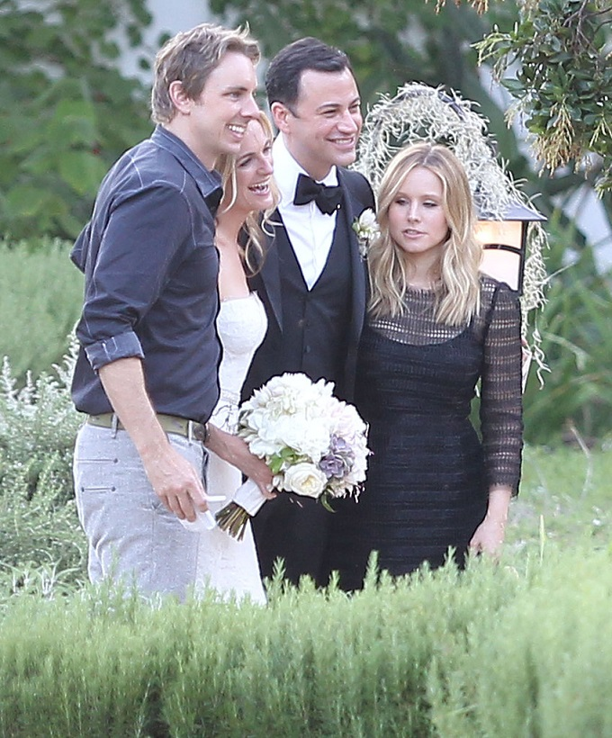 Jimmy Kimmel And Molly McNearney Wedding Photos