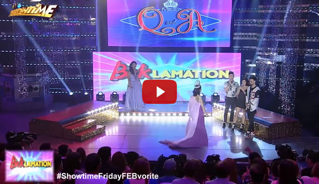 Watch It's Showtime Miss Q and A #ShowtimeFridayFEBvorite February 9, 2018