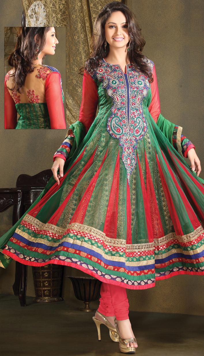 Efello Online Salwar Kameez Sarees Indian Designer: Party Wear Salwar Suit