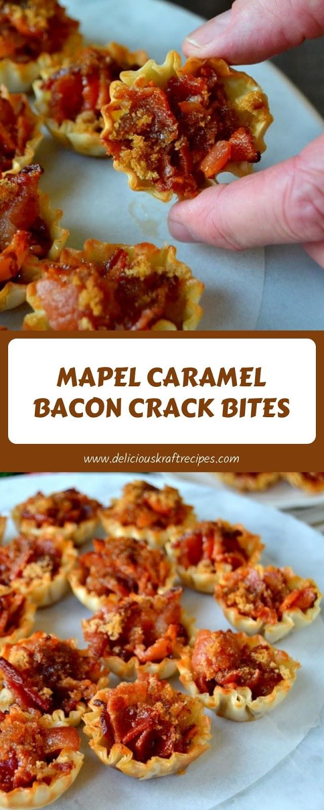 MAPEL CARAMEL BACON CRACK BITES
