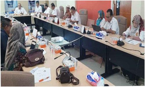 PDAM Kota Padang, Adakan Diskusi,Dengan Stakholder Tentang Rencana Kenaikan Tarif Air 2020