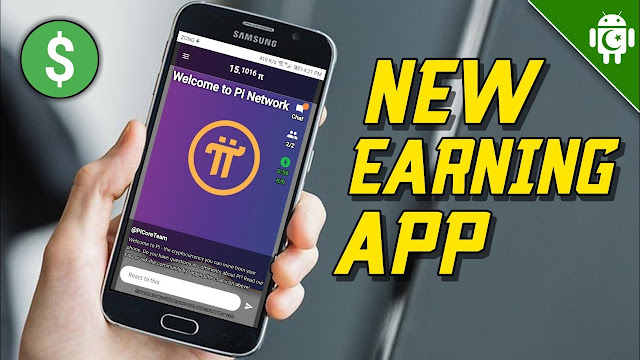 Earning App  Pi Network Cryptocurrency