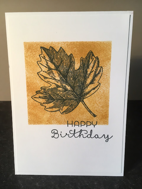 Vintage Leaves Stampin' Up!