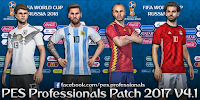 PES Professionals Patch 2017 V4.1