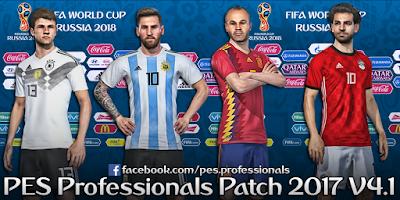 PES Professionals Patch 2017 V4.1