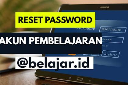 Password Akun Pembelajaran Lupa? Reset Segera!