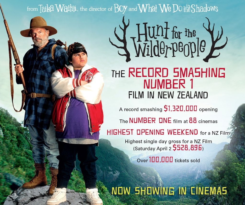 Odeon online hunt for the wilderpeople friday 10th june 2016