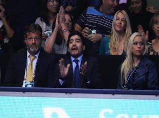 Maradona talent scout negli Emirati