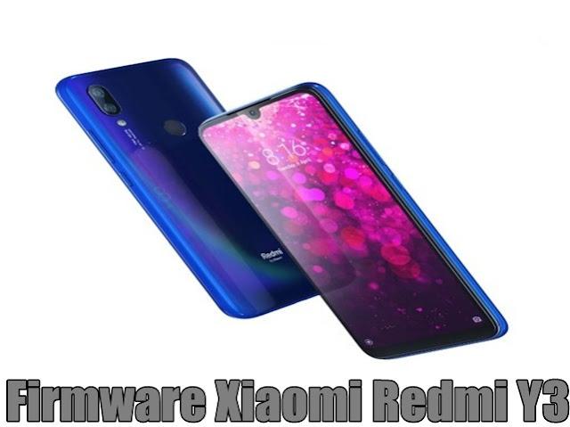 Firmware Xiaomi Redmi Y3