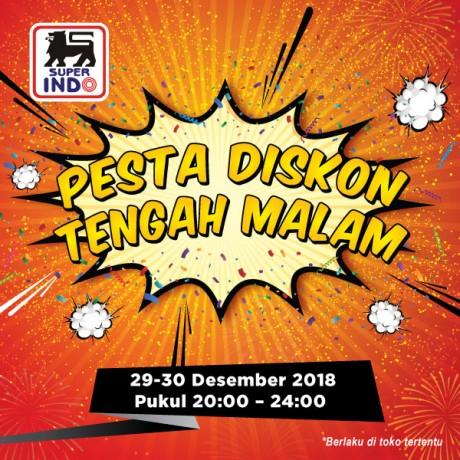 #Superindo - Promo Pesta Diskon Tengah Malam Jam 20-24 (29 - 30 Des 2018)