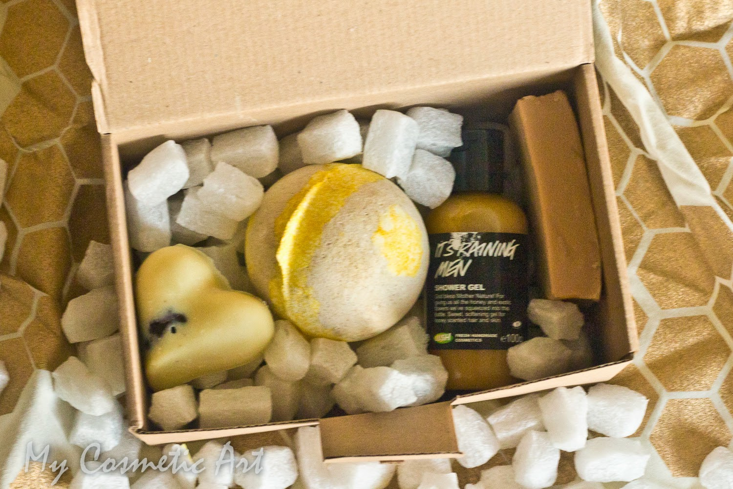 Honey regalo lush furoshiki unboxing