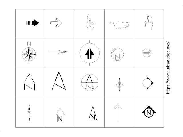 North mark and symbols free cad blocks - 20+ Dwg North Cad Blocks