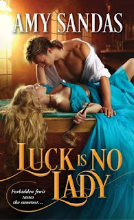 Luck is no Lady, Amy Sandas, book, romance, regency, adult, historical romance, fiction, book