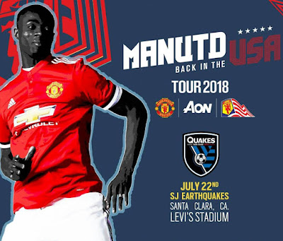 MANCHESTER UNITED VS SJ EARTHQUAKES LIVE STREAM