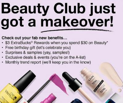 CVS Beauty Club member