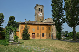 The church of San Michele Arcangelo in Busseto, where Giuseppe Verdi played the organ as a young man
