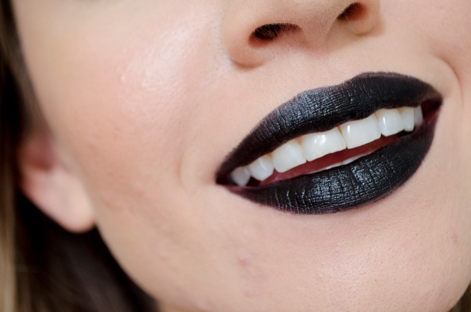All Black Everything Makeup Look Products Used Morerebe - Satin Finish Lipstick