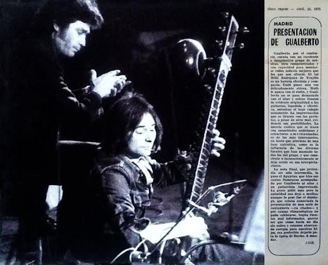 AGUJETAS GUALBERTO MADRID 1975 CRÓNICA