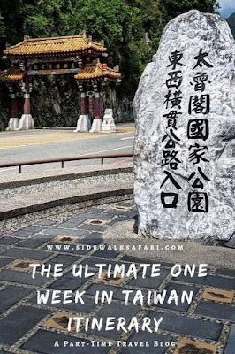 The ultimate one week in Taiwan Itinerary: Taroko Gorge