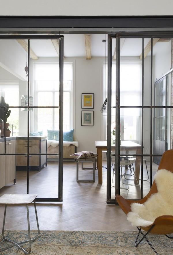Vosgesparis An Industrial Dream Home X A Steel Wall Divider By Vtwonen Amp A Diy
