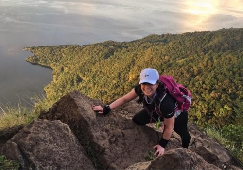 Angel Locsin Successfully And Safely Reaches The Peak Of Mt. Batolusong