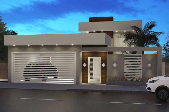 Diseño moderno de fachadas de casas pequeñas