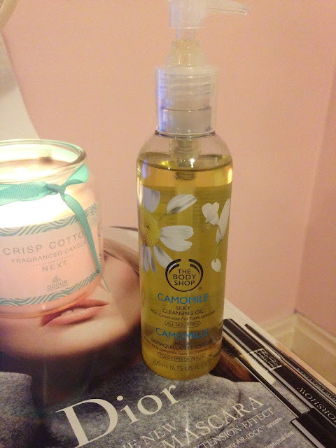 The Body Shop's Camomile Silky Cleansing Oil
