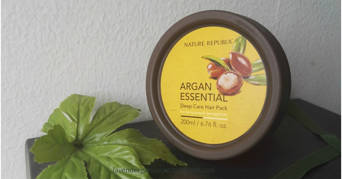 Nature Republic Argan Essential Deep Care Hair Pack Review