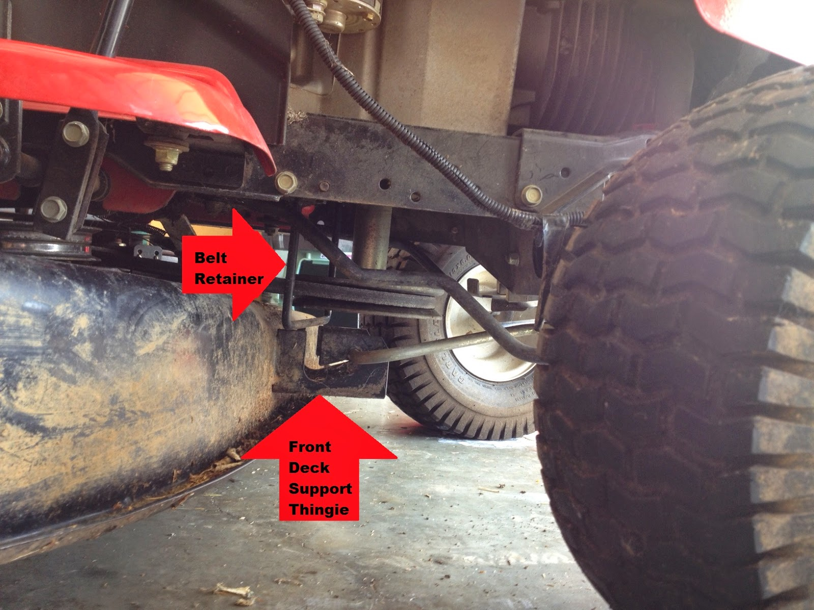 Extra Parts: Changing the Deck Belt and Blades on a 2007 42