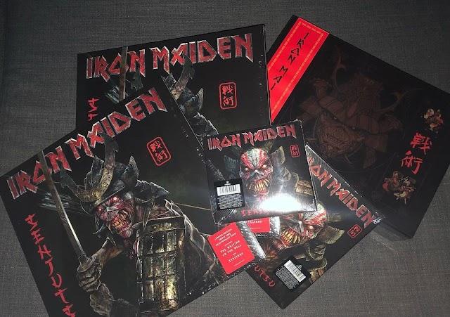 Sejutsu: veja as primeiras fotos do novo álbum do Iron Maiden