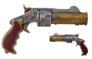 steampunk gun prop toy accessory for costume cosplay LARP