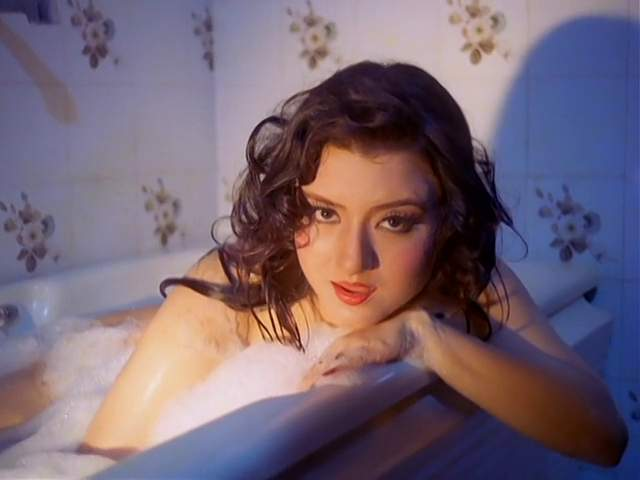 Jasmine hot bathing still from Veerana