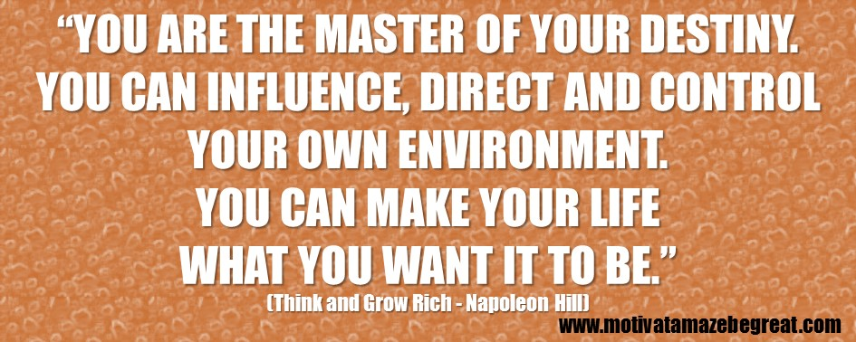 60 Best Think And Grow Rich Quotes By Napoleon Hill Motivate Amaze Gorgeous Think And Grow Rich Quotes
