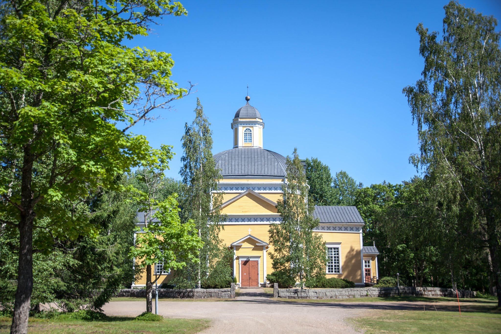 Luumäen kirkko Engel