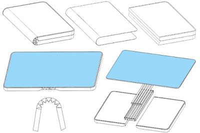 Huawei folding phone patent
