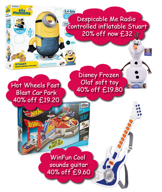 40% off Toys at Debenhams